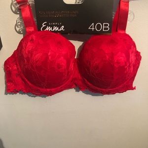 Other - NWT lace balconette bra 40B